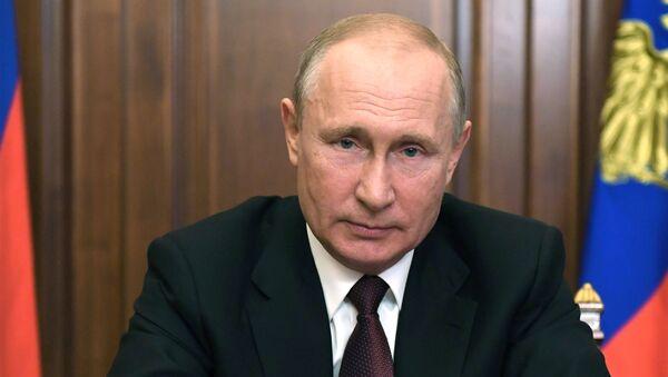 Il presidente Putin parla alla nazione - Sputnik Italia