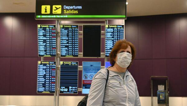 Aeroporto di Madrid - Sputnik Italia