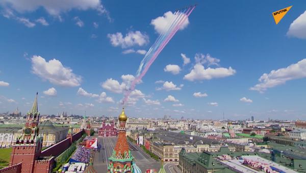La parata per il 75esimo anniversario della Vittoria contro il nazismo sulla Piazza Rossa a Mosca - Sputnik Italia