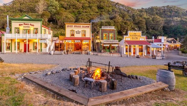 New Zealand old west town Mellonsfolly Ranch - Sputnik Italia