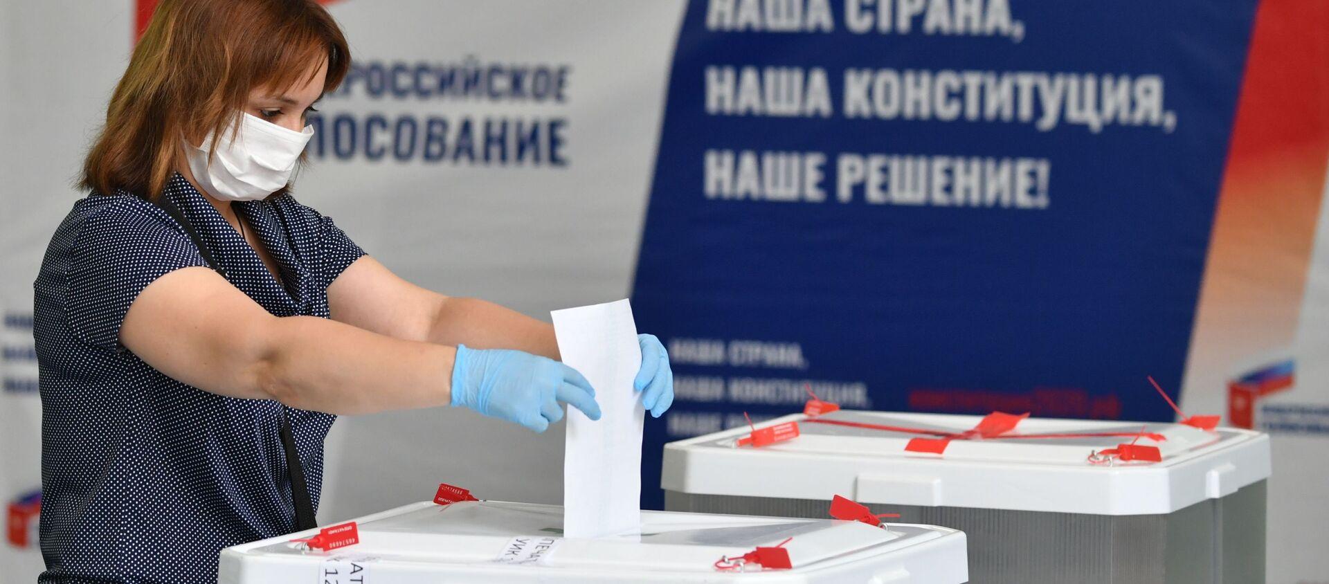 Votazioni per le modifiche alla Costituzione russa - Sputnik Italia, 1920, 02.07.2020
