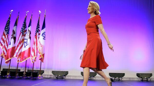 Carly Fiorina, candidato alla presidenza USA del partito repubblicano - Sputnik Italia