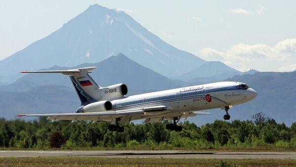 A TU-154 passenger liner in Kamchatka - Sputnik Italia