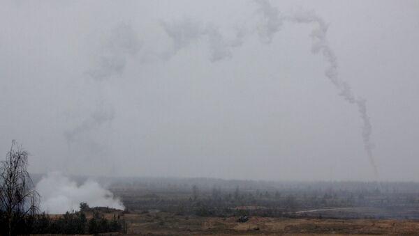 Esercitazioni NATO al poligono di Adazhi in Lituania. - Sputnik Italia