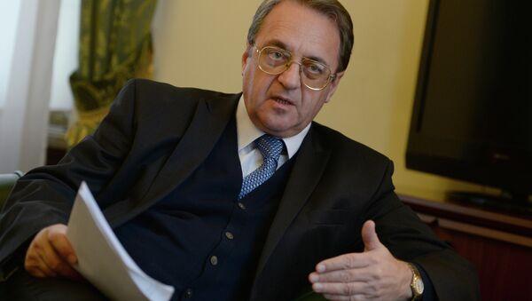 Il Vice-Ministro degli Esteri russo Mikhail Bogdanov - Sputnik Italia