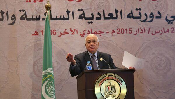 Segretario generale della Lega Araba Nabil El-Araby - Sputnik Italia